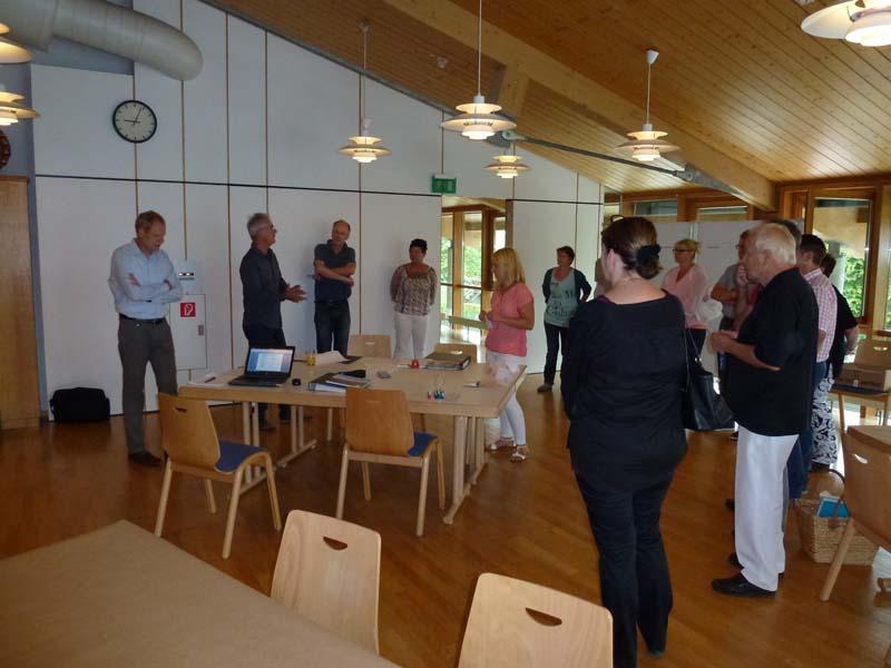 Teilnehmer bei der Ideenwerkstatt am 26.07.2014