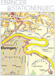 Karte vom Stationenweg