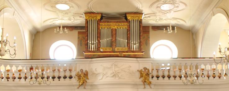 Orgel in der Ebringer Kirche