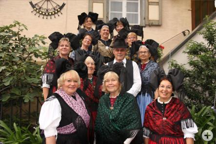 Gewinnerbild des Monats August - Trachtengruppe - fotografiert von Frowalt Janzer