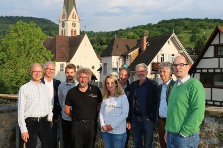 Mitglieder des neu gegründeten Klimabeirats